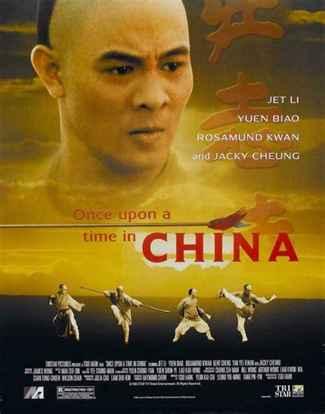 once upon a time film once upon a time in china movie posters from movie poster shop