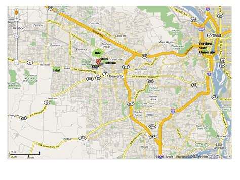 map of oregon beaverton beaverton or pictures posters news and on your
