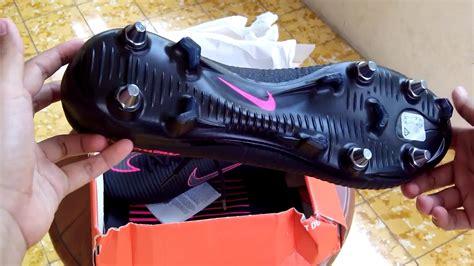 Sepatu Bola Terbaru Nike Mercurial Putih Merah sepatu bola nike mercurial superfly v sg pro black pink 831856 006 original