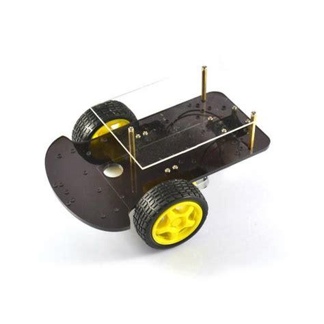 Arduino Smart Car 2wd 2 Layer Roda Warna Ban Roda Yellow Murah 2wd layer smart robot car chassis kits for arduino alex nld