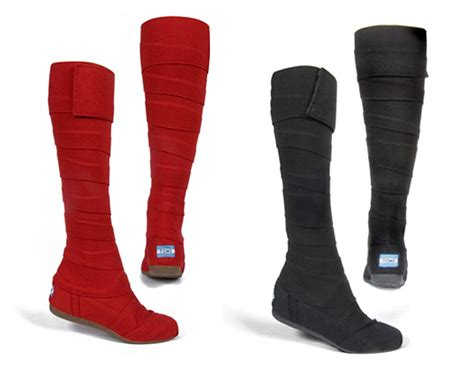 toms wrap boots ecouterre