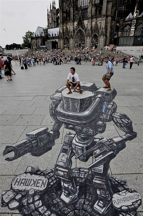 ilusiones opticas urbanas mejores 302 im 225 genes de sidewalk art en pinterest arte