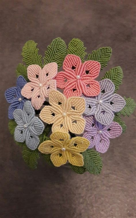 Macrame Flower Knot - 383 best images about macrame on macrame