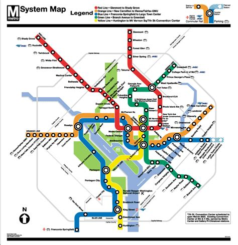 map of dc metro your city s rail system ridership expansions pictures construction green money