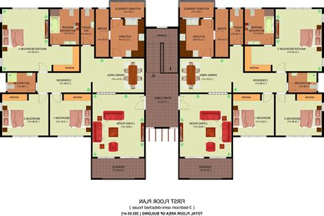 floor plan of 3 bedroom flat home design 79 stunning 3 bedroom apartment floor planss
