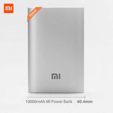 Xiaomi Power Bank Pro 10000mah Handphone Tablet Aksesoris jual xiaomi new slim powerbank 10000mah original silver