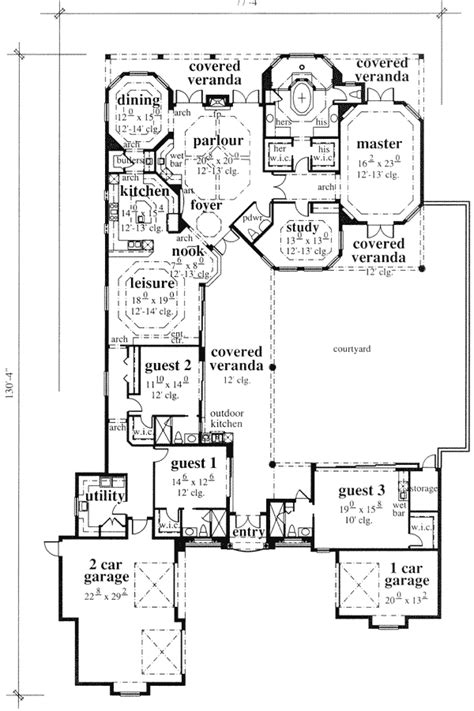 mediterranean house plans with courtyard mediterranean style house plans with courtyard home