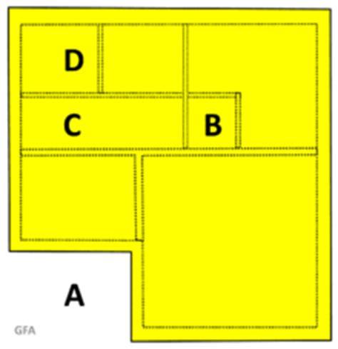 how to calculate floor area floor area building