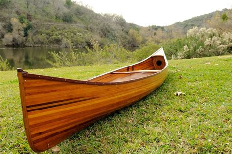 Handmade Wooden Canoes - pin by nautical world on wooden real canoes