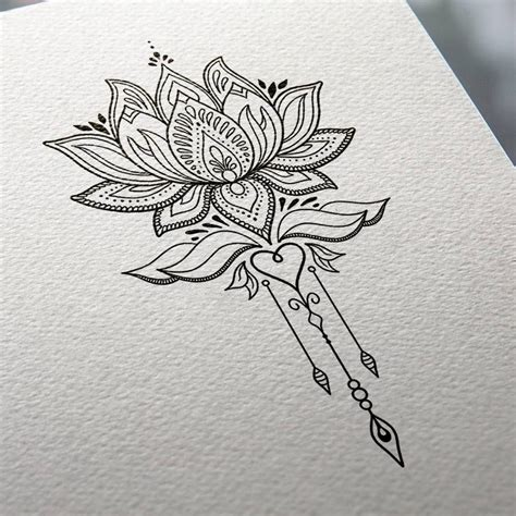 tattoo mandala dos lotus flower tattoo design mnd2 dessin tattoo