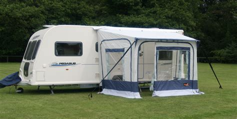 caravan porch awnings on ebay pyramid pdq quick erect caravan porch awning 2011 model ebay