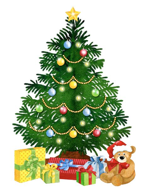 christmas representing leading artists who produce happy christmas tree clipart 40