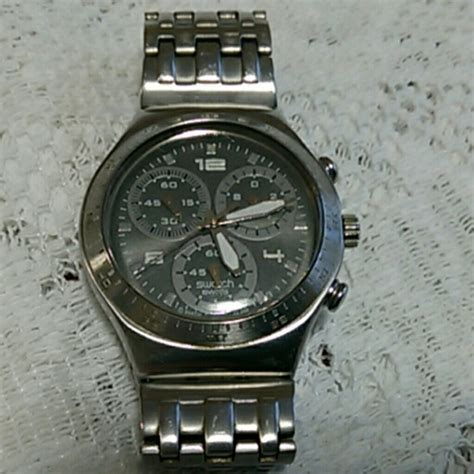 Swatch Ag 2004 Swiss Made swatch swatch irony chronograph v8 ag2004 stainless