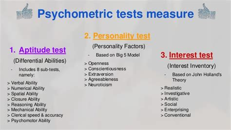 psychometric test career assessments psychometric testing