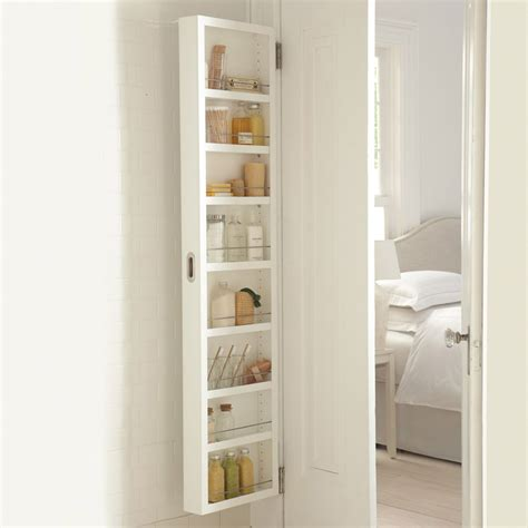 Furniture White Over The Door Bathroom Cabinet With Bathroom Furniture Doors