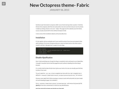 jekyll themes octopress octopress themes