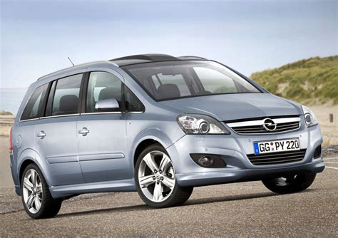 opel zafera luxury automobiles