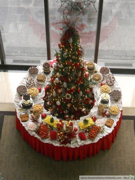 christmas buffet table decoration ideas