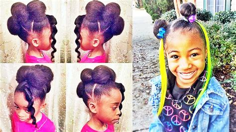 Simple hairstyle for Year Old Black Girl Hairstyles Year