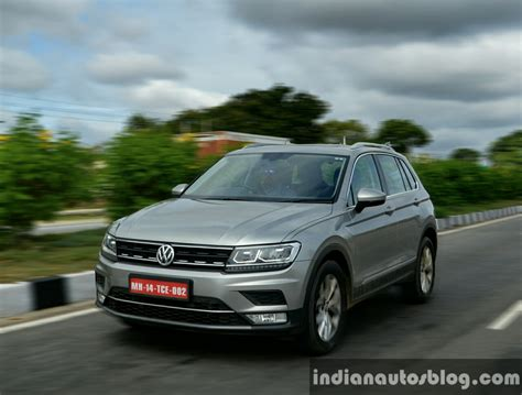 on the road review 2017 vw tiguan on the road first drive review indian