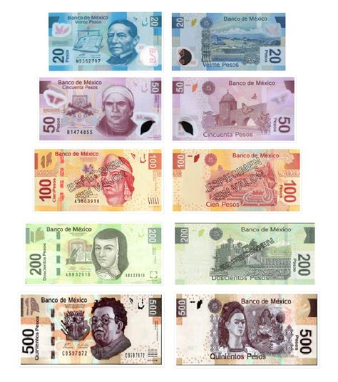 Mexican Currency Canelito