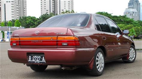 Lu Depan Mobil Great Corolla Kelebihan Dan Kekurangan Mobil Toyota Great Corolla Sedan