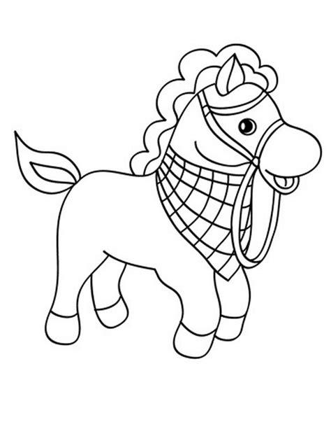 Gambar Dan Sho Kuda gambar mewarnai kuda poni untuk anak paud dan tk aneka