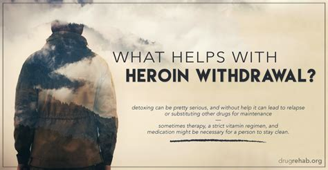 Heroin Detox Help by Help For Opioid Withdrawals