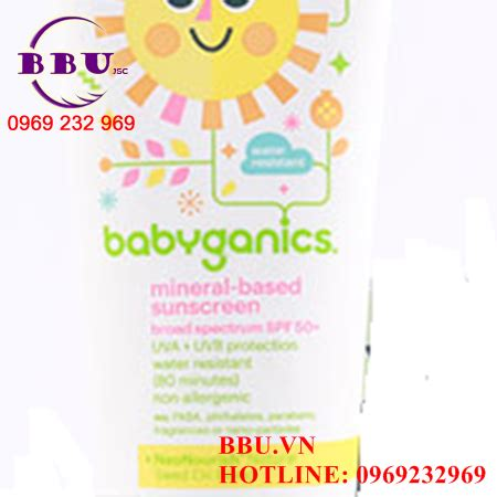 Babyganics Sunscreen Spray Spf50 177ml For Sunblock Krim Matahari kem chống nắng babyganics mineral based sunscreen spf 50