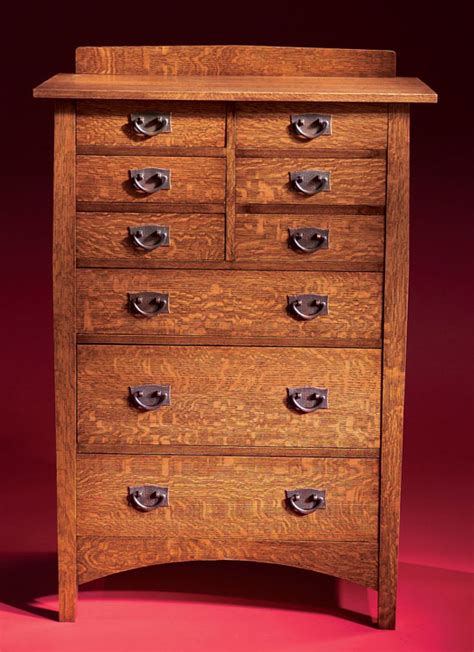build mission chest  drawers plans  plans