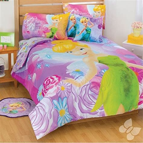 Cute Disney Comforters And Bedding Sets For Boys And Girls Tinkerbell Bedding Set