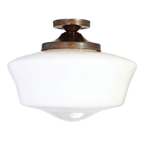 Attractive Church Light Fixtures #3: Monaghan-lighting-school-house-traditional-1920s-style-semi-flush-fitting-opal-glass-ceiling-light-p235-10981_zoom.jpg