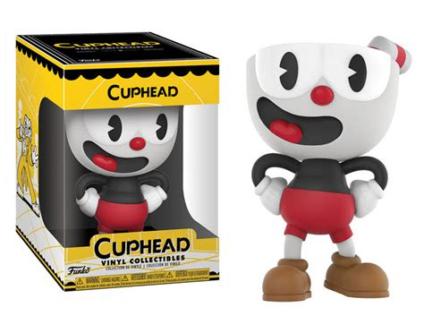 Funko Pop Vinyl Figure X funko does cuphead as vinyl collectible toys