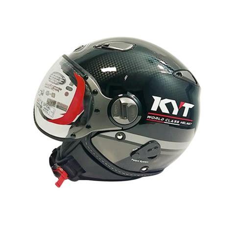Helm Kyt Half Elsico Jual Kyt Elsico 3 Helm Motor Half Black Gun Metal