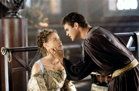 gladiator film netflix connie nielsen as lucilla and joaquin phoenix as emperor