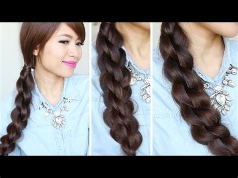braided hairstyles tutorials youtube 3d split twist braid tutorial easy braided hairstyles