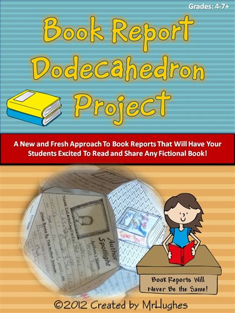 Book Report Project by Book Report Dodecahedron Project Kit