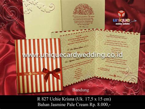Undangan Pernikahan Toni Wulan best seller hardcover unique card wedding invitation laman