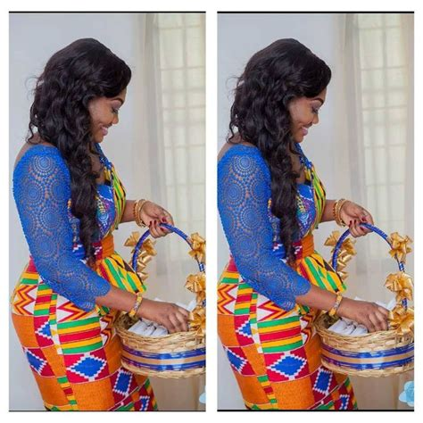 traditional ghana kente styles in engagement a ghanaian bride repost from i do ghana facebook photo