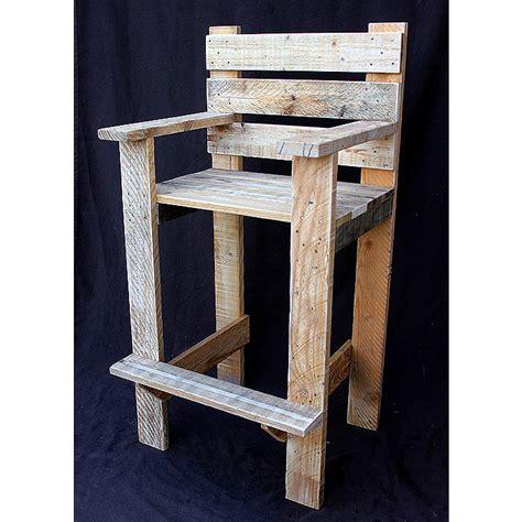 chaise en palette chaise haute d exterieur en palette