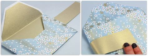 How Do You Make A Paper Envelope - make your own patterned envelopes templates