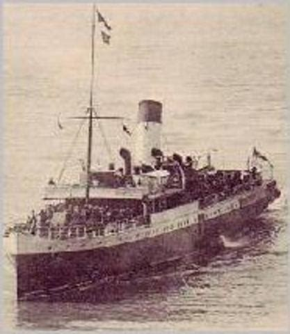 german u boats stood by the sussex pledge usa in wwi timeline timetoast timelines