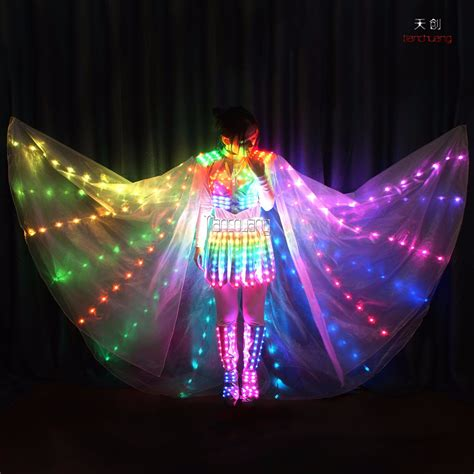 Light Up Fairies Light Up Stage Costume Wings Dress 2016 Made Led Buy Light Up