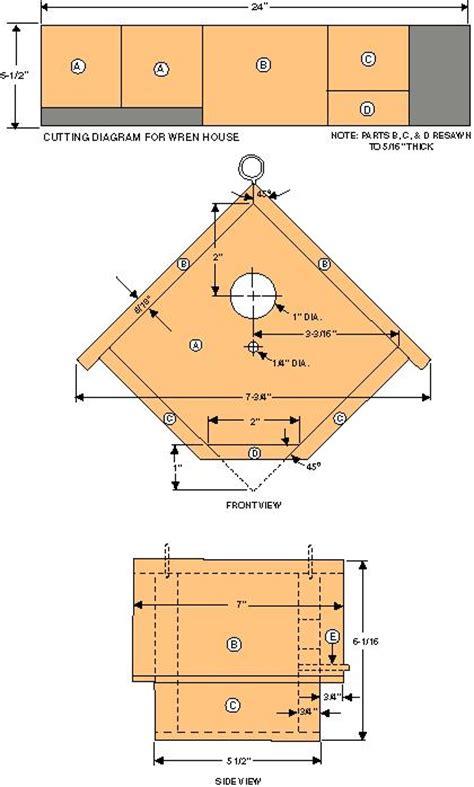 wren birdhouse plans plans cabin plan software