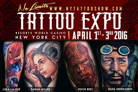 Tattoo Expo Casino   resorts world casino hosts tattoo expo the aqueduct blog