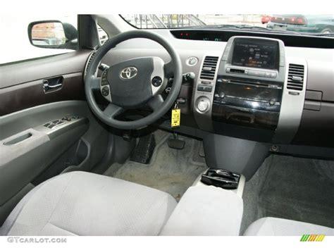 2004 Toyota Interior Burgundy Gray Interior 2004 Toyota Prius Hybrid Photo