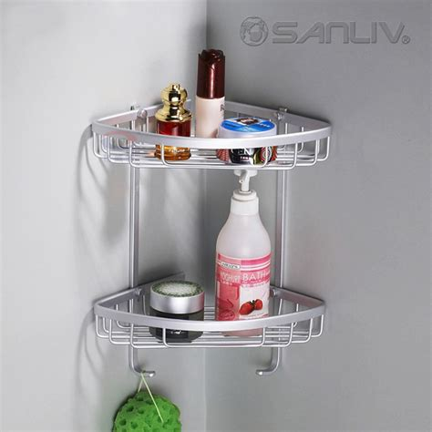 bathroom shower caddies enlarge your small bathroom by corner shower caddies
