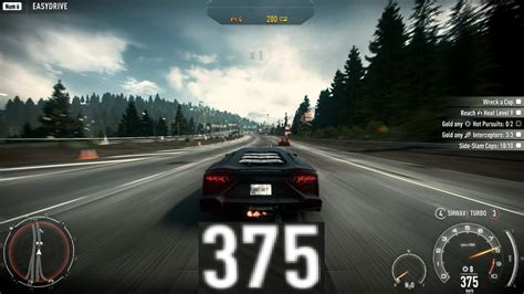 Lamborghini Maximum Speed Need For Speed Rivals 375 Km H Lamborghini Aventador