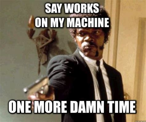 Pulp Fiction Meme - samuel l jackson pulp fiction meme meme