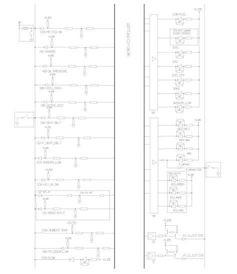 service manuals schematics 2006 hyundai accent instrument cluster hyundai accent circuit diagram instrument cluster schematic diagrams indicators and gauges